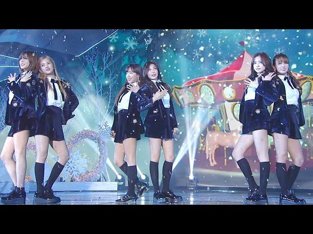 에이핑크(Apink) 러블리한 무대 '내가 설렐 수 있게+별의 별' @2016 SAF SBS 가요대전 2부 20161226