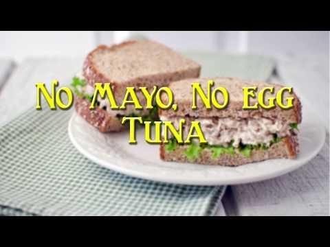 Aileen's Kitchen No Mayo, No Egg Tuna