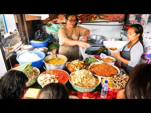 Street Food Tour of Bali - INSANELY DELICIOUS Indonesian Foo