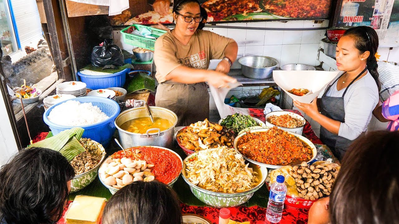 Cuisine Bali Street Food Tour Of Bali Insanely Delicious Indonesian Food In Bali Indonesia