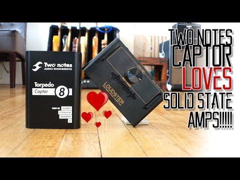 Two Notes Captor LOVES Solid State Amps!!! 😊