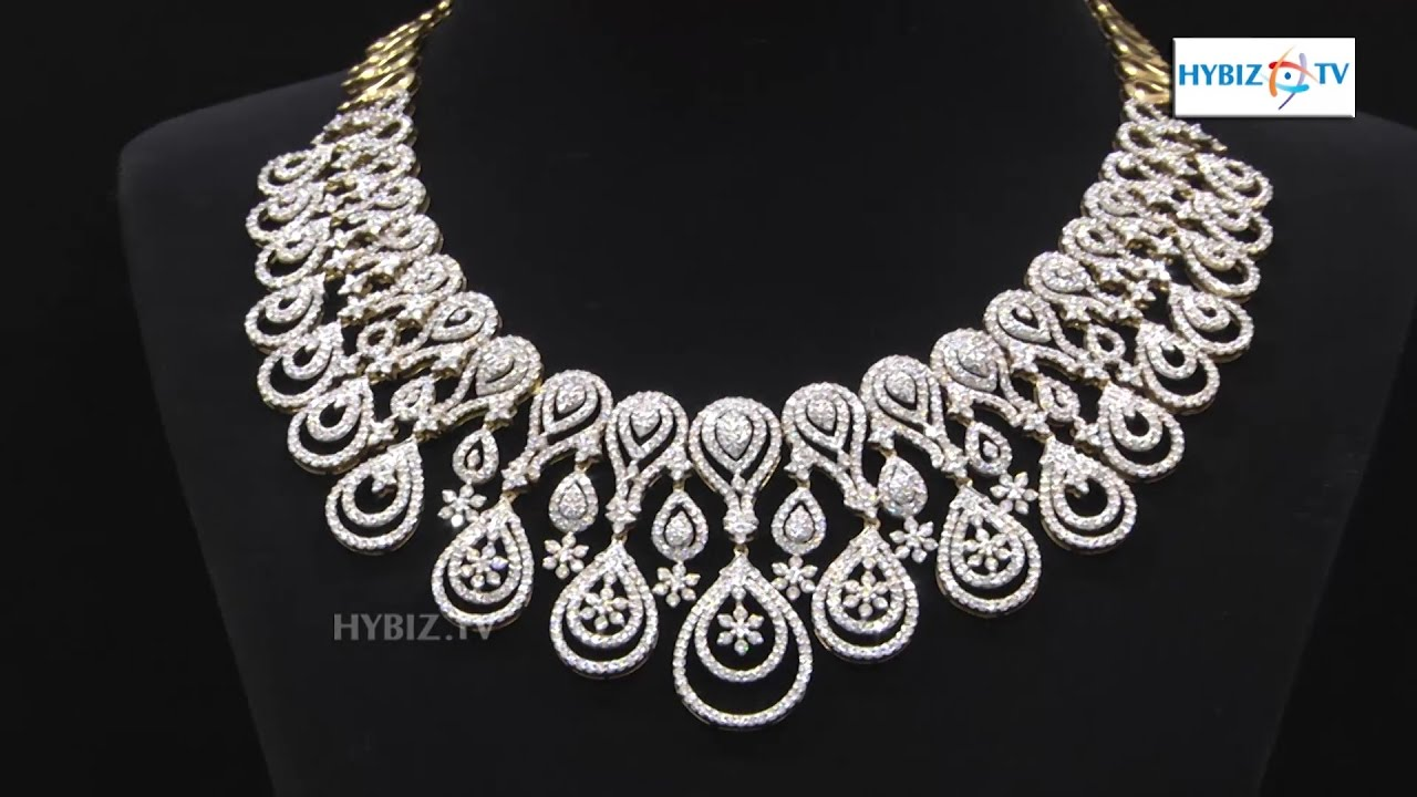 Simple Diamond Necklace Sets With Price