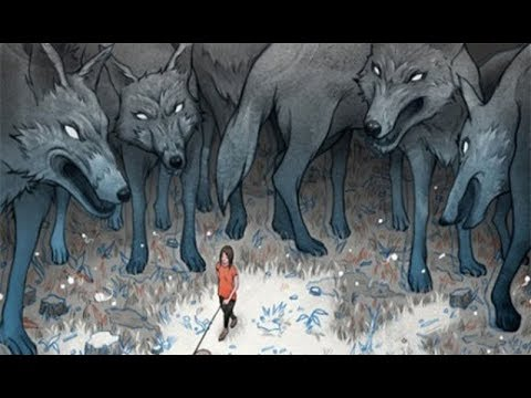 Вопрос: Может ли вожак стаи волков выйти против человека на бой?
