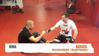 MMA BASICS ARMSTRECKHEBEL GUARD POSITION