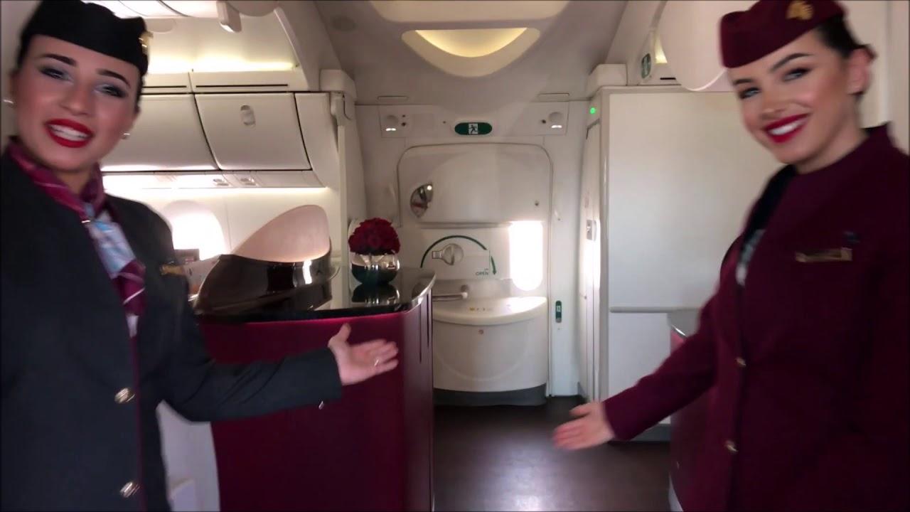 Qatar Airways Milano Jakarta QSuite 777/ Dreamliner 787