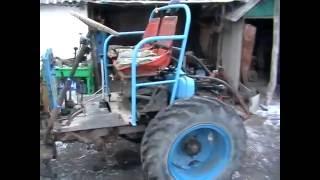 Самодельный трактор из ВАЗ  и ГАЗ