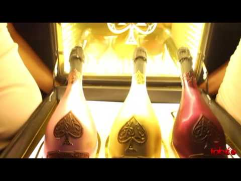 Armand de Brignac 'The Case of Ace' Launch at Taboo Sandton