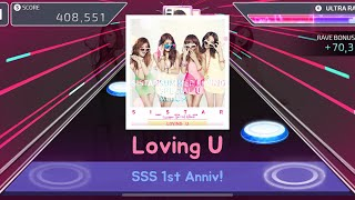 [SuperStar Starship] SISTAR 'Loving U' - Hard / All Perfect