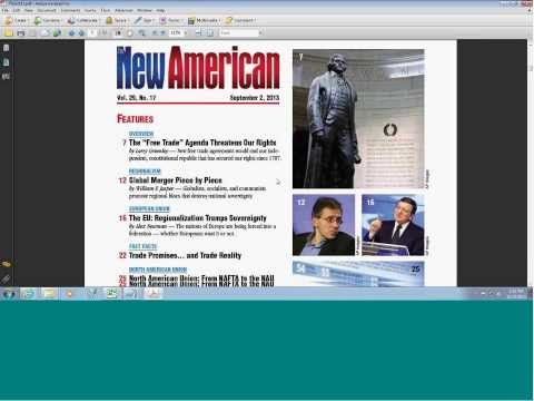 Free Magazine Download: New American Free Trade Agenda