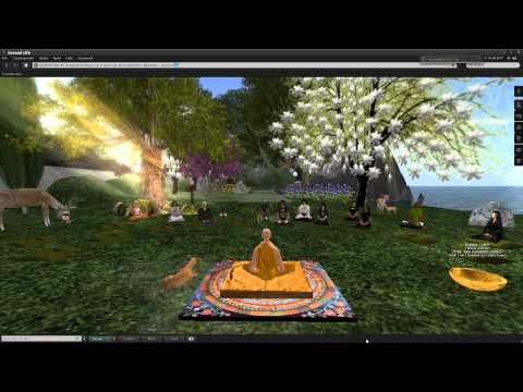 Second Life: The Meditative State of Mind