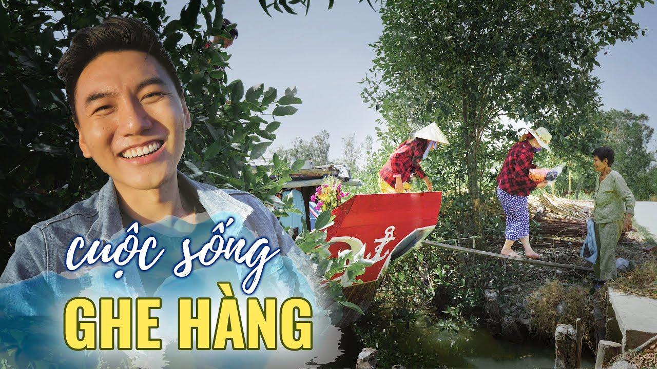 Siêu thị nổi trên sông |Cuộc sống ghe hàng Miền Tây P2 |Du lịch Việt Nam