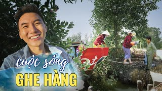 Cuộc sống ghe hàng P2 |FREIGHT WHERRY life in VIETNAM |Floating supermarket |Vietnam tourism