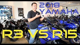 Shop Talk: 2018 Yamaha R3 vs. R15