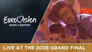 Rodolfo Chikilicuatre - Baila El Chiki Chiki (Spain) Live 2008 Eurovision Song Contest