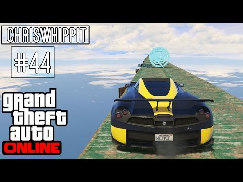 GTA 5 ONLINE med SoftisFFS #44 | FLYING, GLIDING & JUMPING!