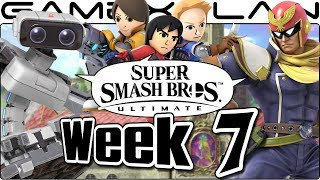 Smash Bros. Ultimate Update: F-Zero Remix, Peach's Castle, Falcon, ROB, Custom Moves Gone?! - Week 7