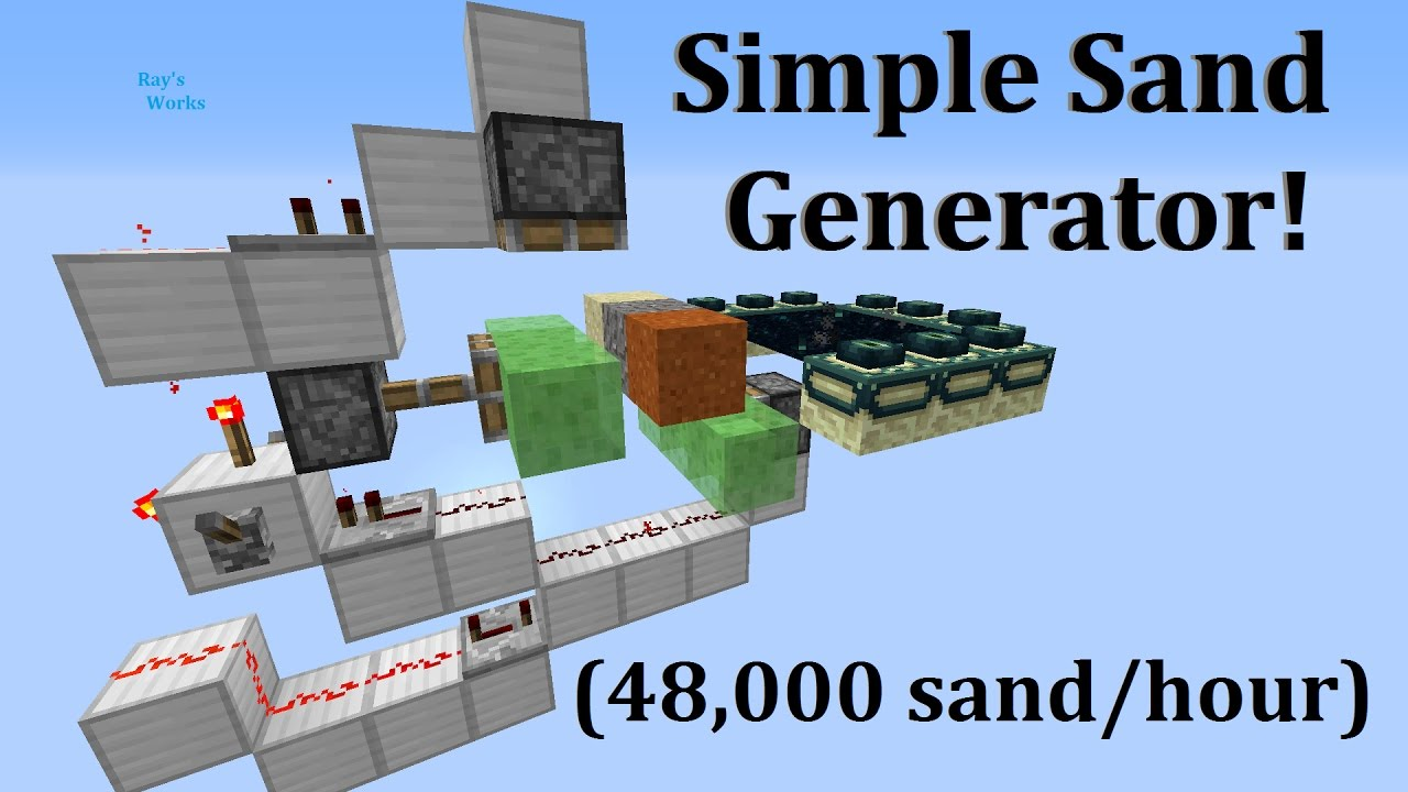 How to make a sand generator 22