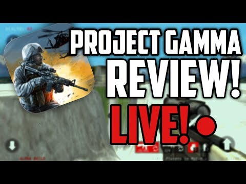 PROJECT GAMMA REVIEW! | LIVE! (was)