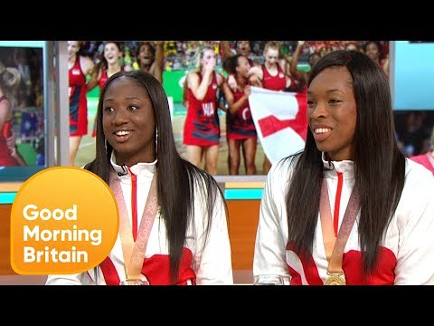 England's Historical Gold Medal Netball Win In Commonwealth Games | Good Morning Britain