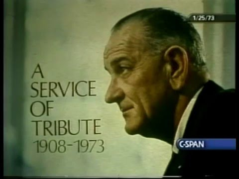 State Funeral of President Lyndon Johnson   NBC News Coverage 1-25-1973