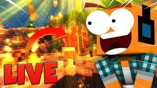 """Minecraft #469 - """"Różne takie projekty!"""" - Na żywo"""