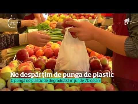 Uniunea Europeană cere eliminarea pungilor de plastic din România