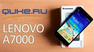 Обзор Lenovo A7000 ◄ Quke.ru ►