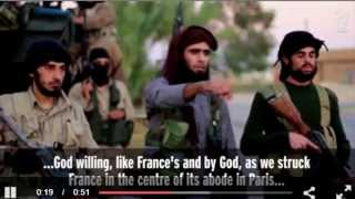 ISIS Releases Video Threatening US after Syria Airstrikes following Paris Terror Attacks