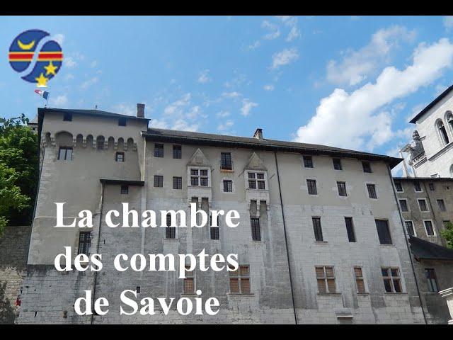 La chambre des comptes de Savoie.