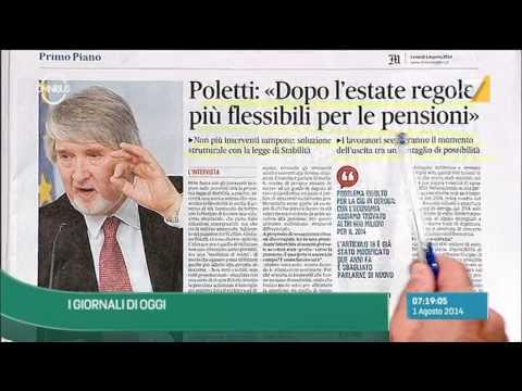Omnibus - Rassegna Stampa (Puntata 01/08/2014)