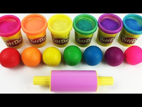 Learn Colors Play Doh Ice Cream Popsicle Peppa Pig Elephant