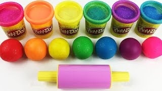 Learn Colors with Play Doh Balls and Cookie Molds Fun & Creative for Kids thumbnail