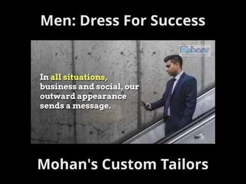 [Tutorial] How Men Dress For Success By Singapore Tailor