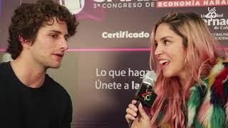 Entrevista a Dario Yazbek con Valentina Lizcano
