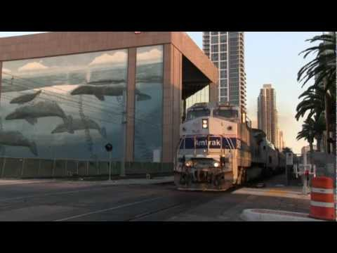 Thumbnail: Amtrak Dallas Cowboys Special Train - San Diego 8/17/2012