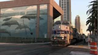Amtrak Dallas Cowboys Special Train - San Diego 8/17/2012