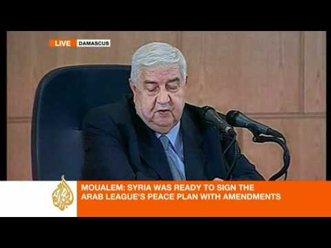 Syrian FM Walid al-Moualem's press conference [Part 1]