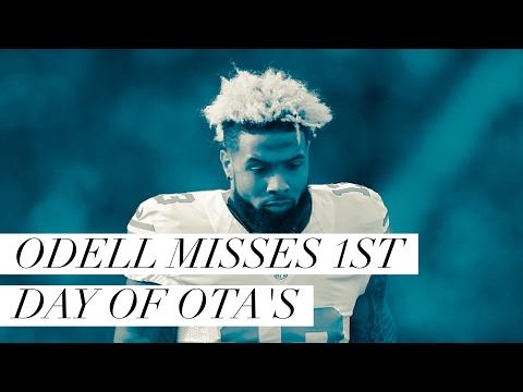Odell Beckham Jr Misses 1st Day Of OTA's