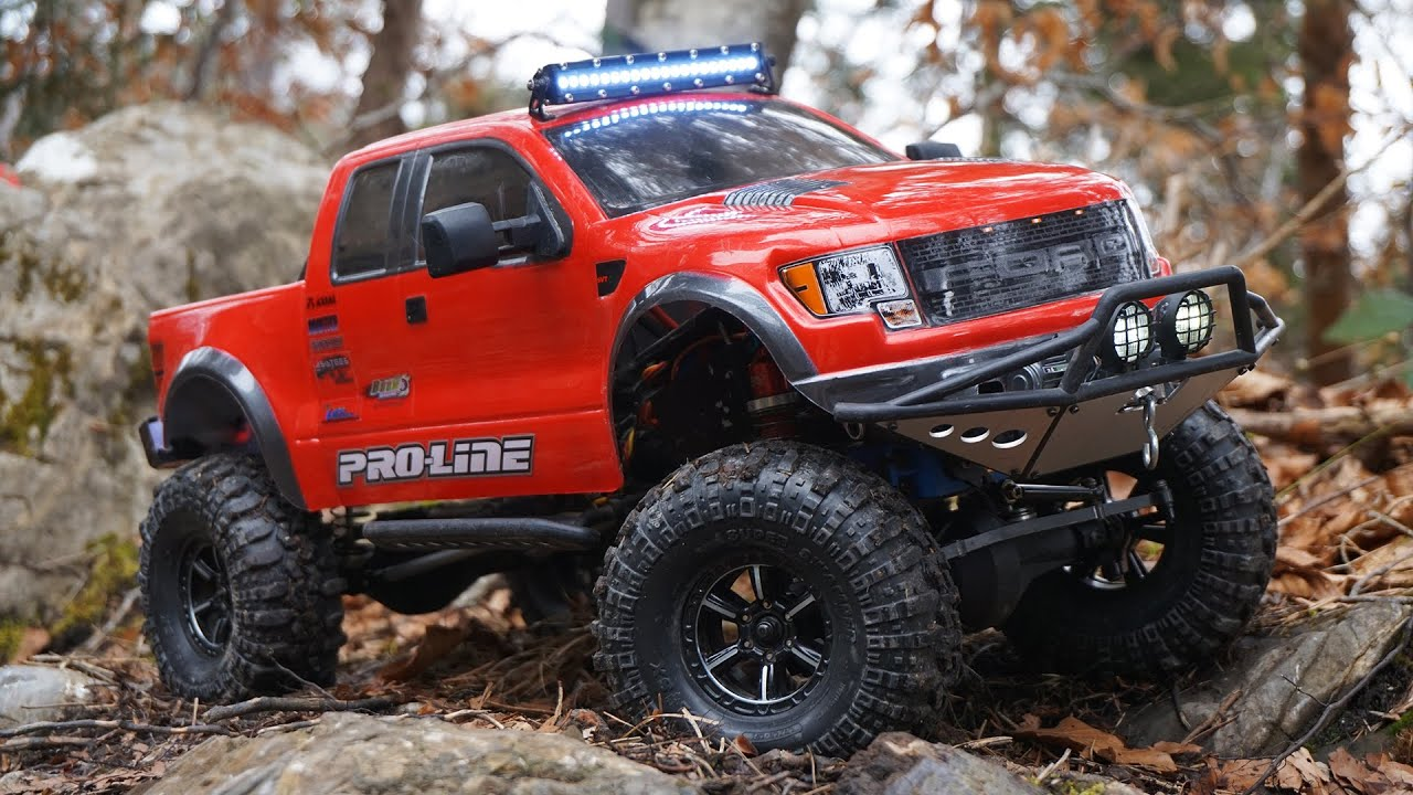 rc trailing uphill axial scx10 ford f 150 raptor. Black Bedroom Furniture Sets. Home Design Ideas
