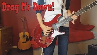 Video One Direction - Drag Me Down (Rock Cover by Amasic) guitar cover download MP3, 3GP, MP4, WEBM, AVI, FLV Maret 2018