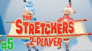 The Stretchers- #5 - ROCKET JUMPS!! (Co-op Gameplay)