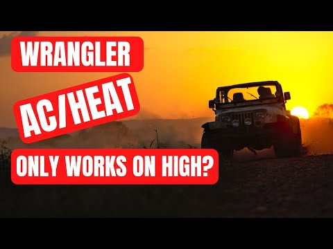 Jeep Wrangler Blower Motor Resistor Fix Youtube
