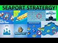 SEAPORT GAME! BEST TIPS TRICKS AND STRATEGY FOR PROGRESSING QUICKLY! PIXEL FEDERATION APP!