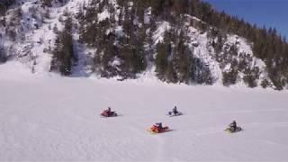 Snowmobiling in Mattawa Voyageur Country at the Mattawa River Resort