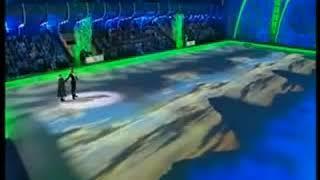 Азербайджанский танец на льду.