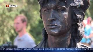"""Скульптура главного героя фильма """"Игла"""" установлена в Алматы"""