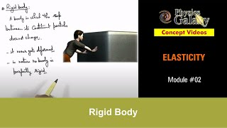 2. Physics | Elasticity | Rigid Body | by Ashish Arora