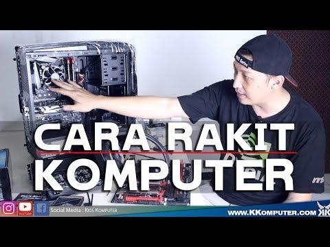 #61 DASAR CARA RAKIT KOMPUTER AMD INTEL sampai RAPI