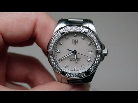Tag Heuer Aquaracer Diamond Womens Watch Review Model ...