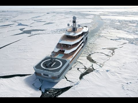 Damen / Amels SeaXplorer Ice Test